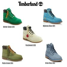 Timberland Premium Nubuck Waterproof Leather Boys Boots [ALL COLORS & SIZES]