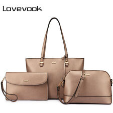 LOVEVOOK 3 PCS Casual Shoulder Bag Women Totes Composite Bag Crossbody Bag Set