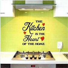Removable Quote Word Vinyl DIY Kitchen Home Room Art Wall Stickers Decor Hot