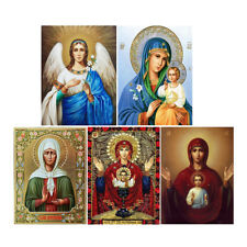 Religion DIY 5D Diamond Painting Angel Art Drill Cross Stitch Kit Home Decor