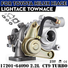 SET Turbocharger CT9 17201-64090 for Toyota TownAce LightAce 3C-T 2.2L High