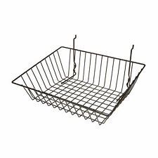 Econoco Multi Fit Sloping Pegboard, Slatwall and Gridwall Bins and Baskets