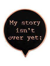 PinMart's My Story Isn't Over Yet; Semicolon Mental Health Suicide Awareness Pin