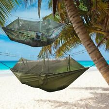 Jungle Hammock Mosquito Net Camping Travel Parachute Hanging Bed Tent AL