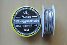 High Quality Exotic Premium SS316L Stainless Steel Coil Wire Spool 5m 15FT+ Roll