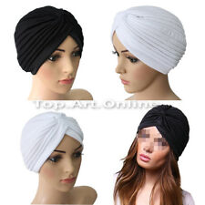 Indian Style New Stretchable Head Wrap Cap Turban Hat Cloche Hair Cover Hot Sale