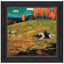 The Blue Horseman, 1903 by Wassily Kandinsky Framed Painting Print
