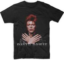 David Bowie Ziggy Stardust 1973 Music Band Adult Mens T Tee Shirt PSP-DBW-1003