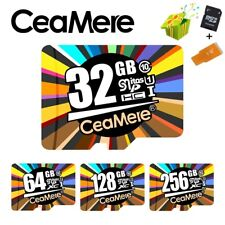 Memory Card 256GB 128GB 64GB U3 UHS-3 32GB Micro SD Card Class10 UHS-1 Lot +Gift