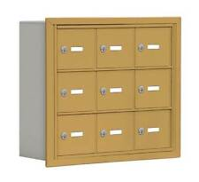 Cell Phone Storage Locker in Gold Finish [ID 3253775]