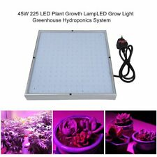 45W 225 LED Plant Growth Lamp LED Grow Light Greenhouse Hydroponics System AS