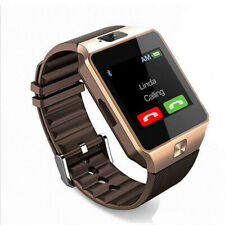 SIM Card Slot Bluetooth Smart Watch Sleep Monitor Phone Mate For Android DZ09