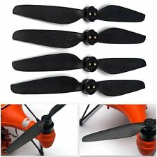 4x Quick-Release Carbon Fiber Propeller Props Blades For SwellPro Splash Drone 3