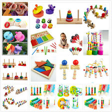 Wooden Toy Baby Kid Children Intellectual Developmental Educational Cute Toys Bj