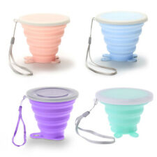 Silicone Portable Retractable Folding Cup Telescopic Collapsible Outdoor Travel