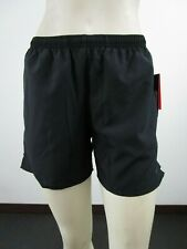 """NWT Womens Small Asics Pocketed 5"""" Running Active Gym Workout Shorts - Black"""