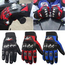 Full Finger Motorcycle Gloves Motocross Moto Riding Gloves Knuckles Protection