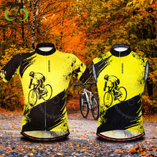 Summer Men's Cycling Jersey Sleeveless Cycling Vest Tops Quick Dry Breathable
