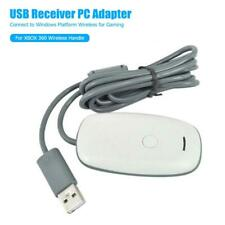 PC Wireless Controller Gaming USB Receiver Adapter Cable for Microsoft Xbox 360