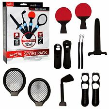 PS3 Playstation 3 Move 12 in 1 Two Player Sport Pack