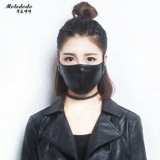 Moledodo 1PC Mouth mask dust PU material Adult Anti Haze waterproof Mask