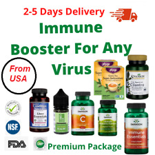 Immune System Booster Package to Prevent Virus Flu against Bacteria and Virus