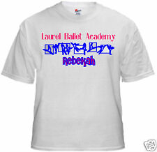 Personalized Ballet or Dance School T Shirt