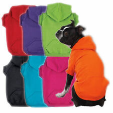 Zack & Zoey Dog Hoodie Coat Jacket Cotton Bright Colors Comfortable Pullover