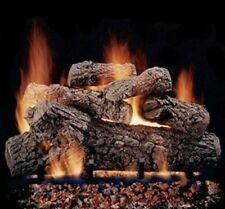 "Hargrove 24"" Classic Oak Vented Gas Log with Remote"