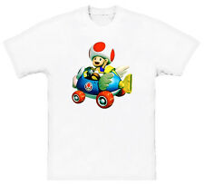 Mario Kart Toad Video Game T Shirt All Sizes