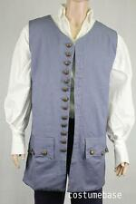 exact Pirate VEST JACK SPARROW Halloween Fancy Costume
