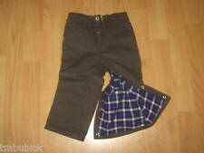 NWT BABY GAP KIDS BOYS TODDLER LINED PANTS 6-12 & 12-18