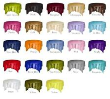 10 Pack of 72 Inch Square Taffeta Overlays 25 COLORS