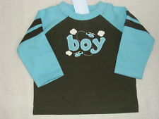 Gymboree TINY COPTER Green BOY Shirt Top Tee NWT