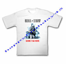 CALL OF DUTY GAME TAG KIDS T SHIRT  2-12 PERSONALISED