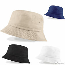 CHINO COTTON BUCKET SUN HAT Mens or Ladies