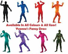 Stag/Hen Party Fun Full Body Lycra Skin Tight Gimp Suit