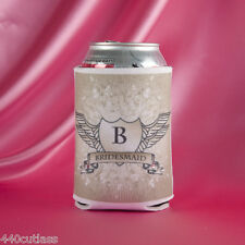 Mix/Match Shield Bride Groom Best Man Groomsman Koozies