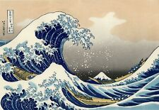 Huge Hokusai The Great Wave Of Kanagawa - Japanese Canvas Art