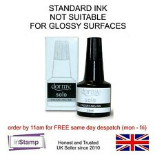 DORMY STAMP PAD REFILL INK, FOR RUBBER STAMP PADS, ASSTD COLOURS