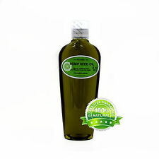 ORGANIC HEMP SEED OIL PURE COLD PRESSED  *FREE S&H!* C