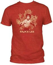 Bruce Lee Dragon Officially Licensed Adult T-shirt S-2XL