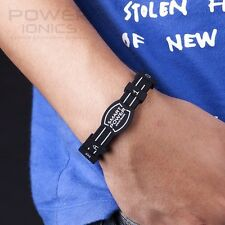 New Power Ionics Smart Germanium Wristband Bracelet Balance Body Energy PT013