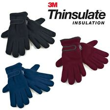 Ladies Thinsulate Thermal Polar  Fleece Gloves