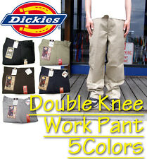 Dickies Double Knee Cell Phone Pocket Work Pants Mens Black Naby Khaki All Color