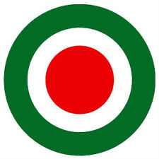Italian Mod Target Button Badge  25mm  or 38mm ,Mods Scooters The Jam Weller