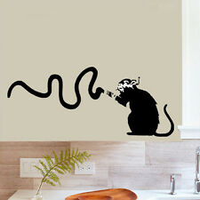 Banksy Rat stencil reusable for art craft decor airbrush painting various sizes