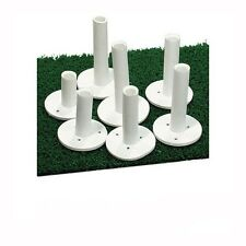 Dura Rubber Golf Tees - 5 Pack - 7 Sizes Available - Driving Range Mat Tees