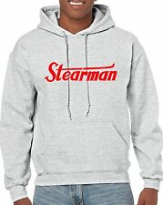 STEARMAN  Hooded Sweatshirt FREE SHIPPING