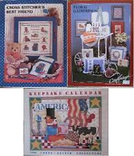 CRAFTWAYS Counted Cross-Stitch Pattern Book Leaflet ASSORTED DESIGNS